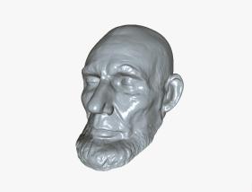 Lincoln 3D modle